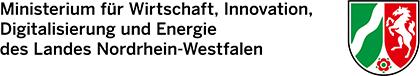 Logo - Ministerium für Wirtschaft, Innovation, Digitalisierung und Energie des Landes Nordrhein-Westfalen